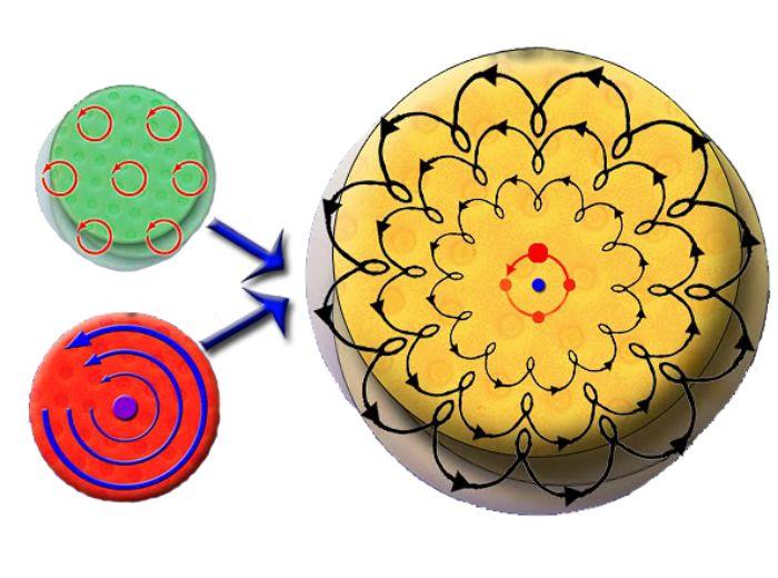 tilfældigrotation-polermaskine