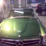 Bilpleje – Mercedes Pagode.