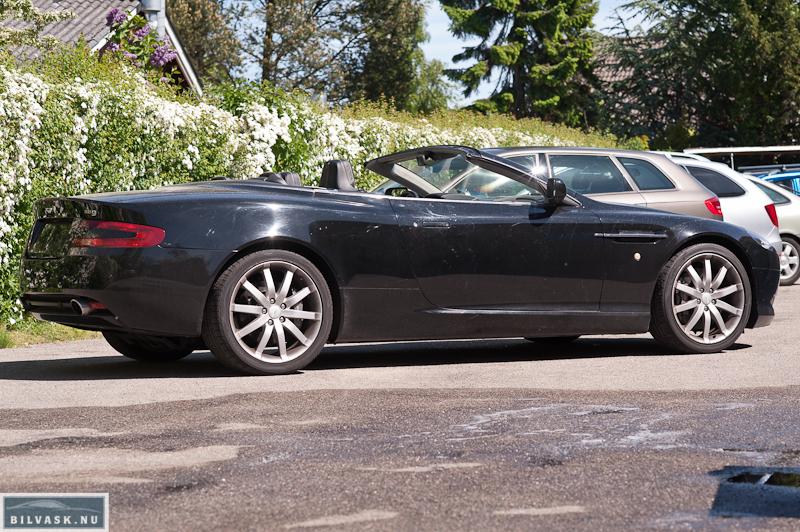 Aston Martin DB9 Inden polering