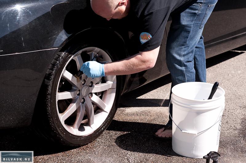 Bilpleje pensel til fælgvask