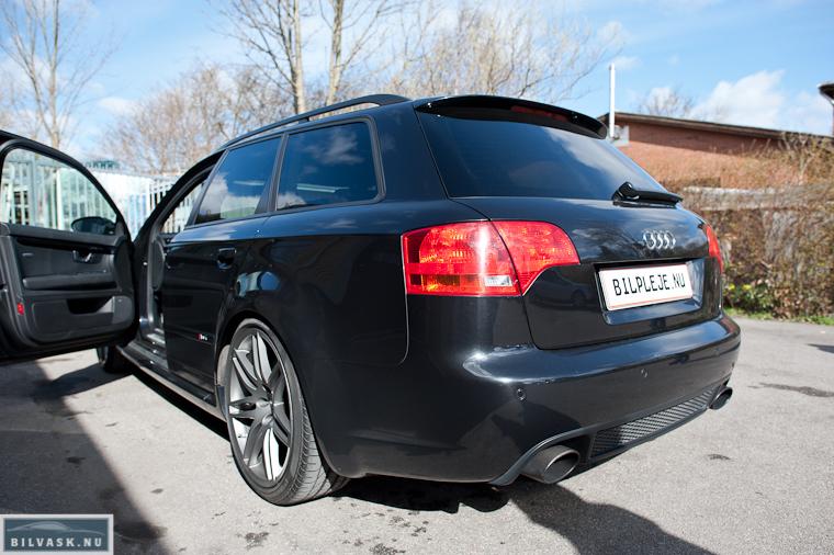 Polering af Audi RS4