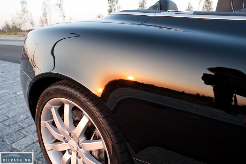 Aston Martin bagskærm efter Karma Car Care polering