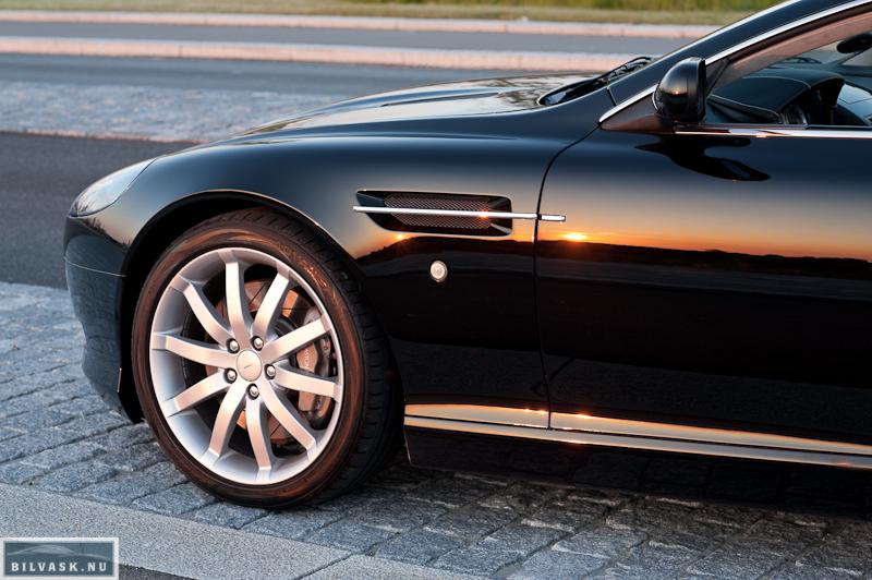 Aston Martin forskærm og dør efter Karma Car Care polering