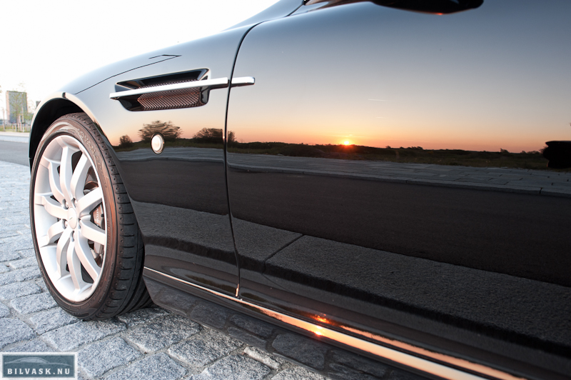Aston Martin føreside