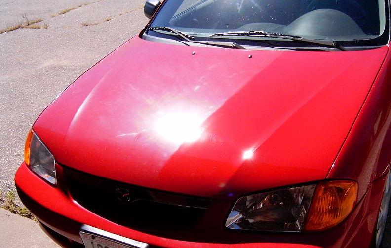 Er bilens farve falmet ? mælkehvid ? så har du oxyderet lak!